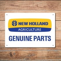 New Holland Genuine Parts Metal Sign