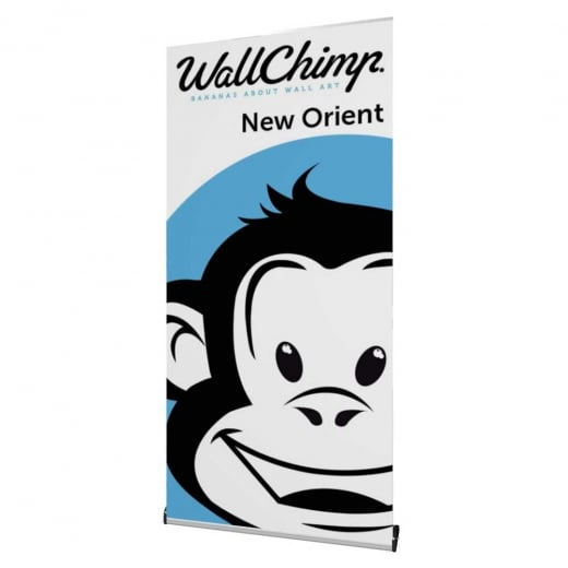 Wall Chimp New Orient Banner Stand