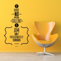 No Special Talent Wall Sticker Quote