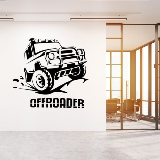 Wall Chimp Off Roader 4X4 Wall Sticker