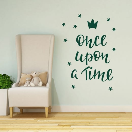 Wall Chimp Once Upon A Time Wall Sticker
