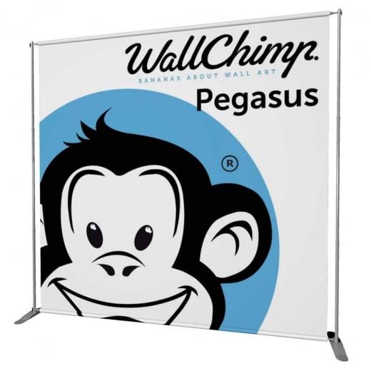 Wall Chimp Pegasus Banner Stand
