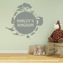 Personalised Circle Of Life Wall Sticker
