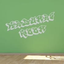 Personalised Graffiti Font Wall Sticker