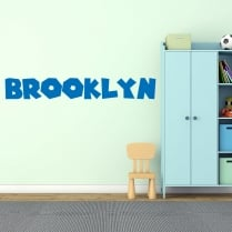 Personalised Name Font Wall Sticker