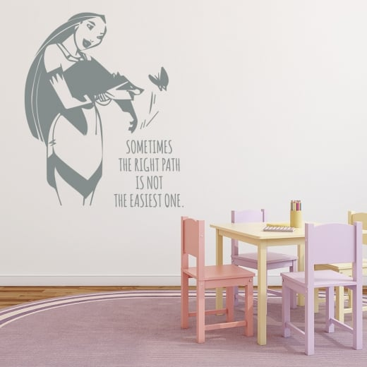 Wall Chimp Pocahontas Wall Sticker