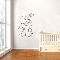 Pooh Bear Wall Sticker