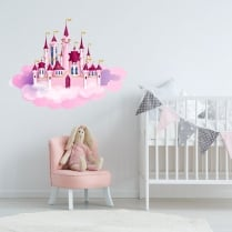 Princess Castle Printed Wall Sticker