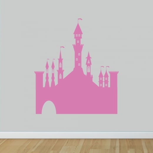 Wall Chimp Princess Castle Wall Sticker