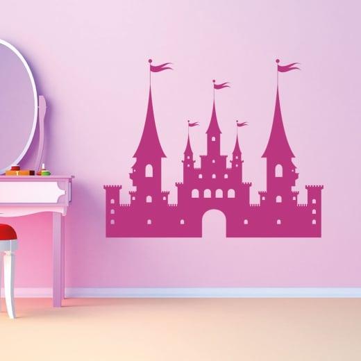 Wall Chimp Princess Castle Wall Sticker