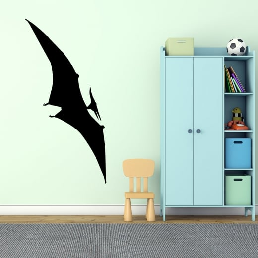 Wall Chimp Pteranodon Flying Dinosaur Wall Sticker