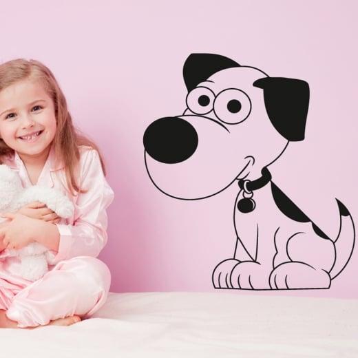 Wall Chimp Puppy Dog Wall Sticker