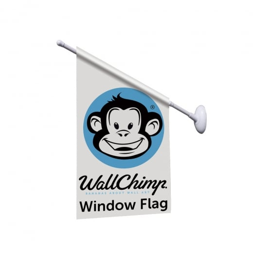 Wall Chimp Quick Install Window Flag