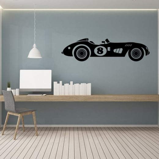 Wall Chimp Race Car Wall Sticker