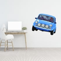 Racing Mini Printed Wall Stricker
