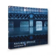 Railway Bridge - Shrewsbury Canvas Print