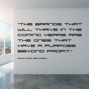 Richard Branson Motivational Wall Sticker