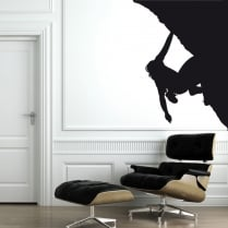 Rock Climber Corner Wall Sticker