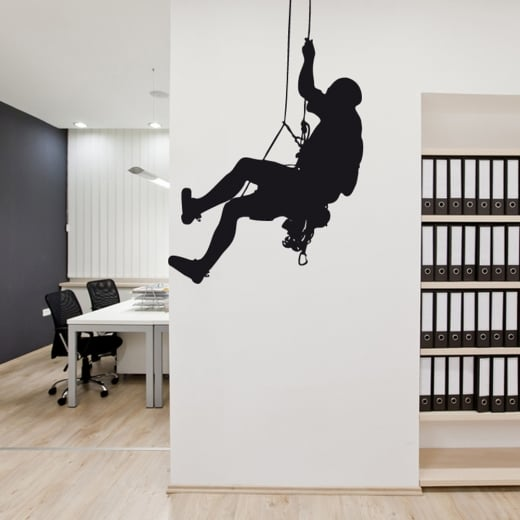 Wall Chimp Rock Climbing Wall Sticker