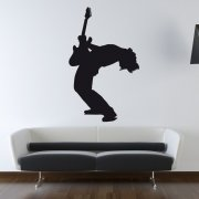 Rock Star Wall Sticker