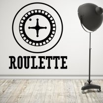Roulette Wheel Wall Sticker