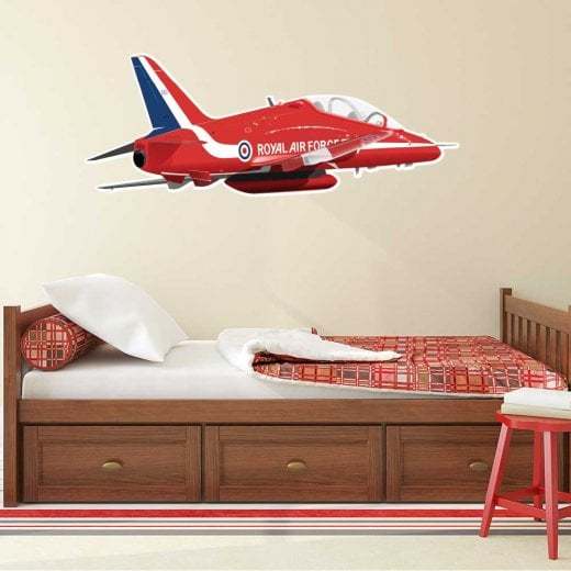 Wall Chimp Royal Air Force Red Arrows Wall Sticker