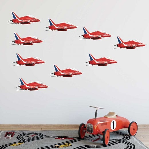 Wall Chimp Royal Air Force Red Arrows Wall Sticker Pack