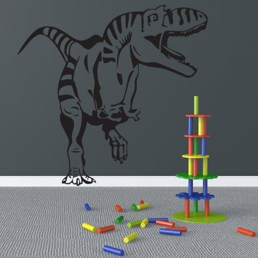 Wall Chimp Scary T-Rex Dinosaur Wall Sticker