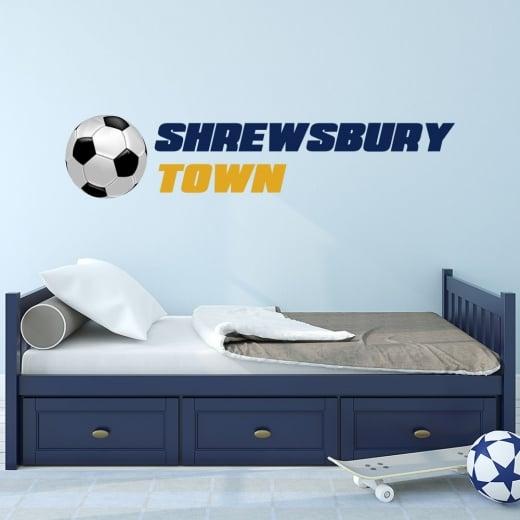 Wall Chimp Shrewsbury Town Football Club Printed Wall Sticker