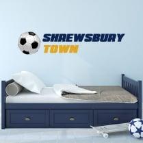 Shrewsbury Town Football Club Printed Wall Sticker