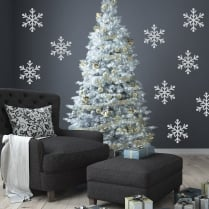 Snow Flake Window & Wall Sticker Pack