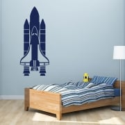 Space Shuttle Wall Sticker