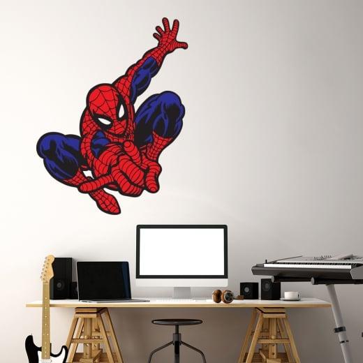 Wall Chimp Spider-Man Printed Wall Sticker
