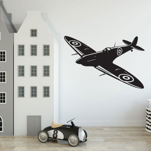 Wall Chimp Spitfire Wall Sticker