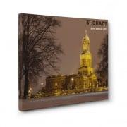 St Chads Church - Shrewsbury Canvas Print