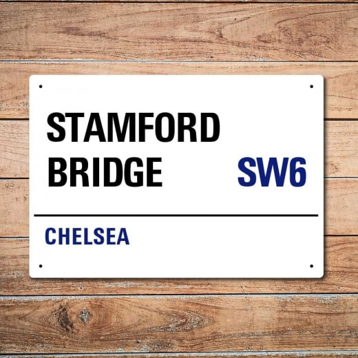 Wall Chimp Stamford Bridge, Chelsea Metal Sign