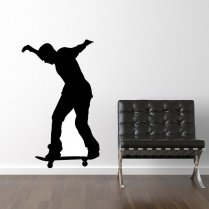 Standing Skateboarder Wall Sticker