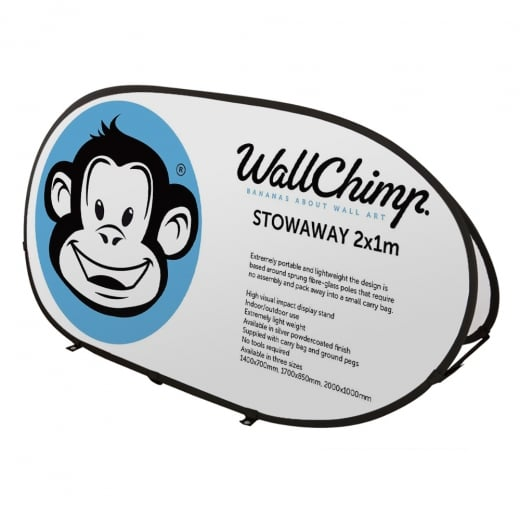 Wall Chimp Stowaway Outdoor Banner