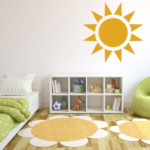 Wall Chimp Sunshine Wall Sticker