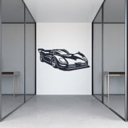 Super Car Wall Sticker