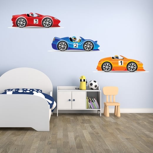 Wall Chimp Supercar Sticker Pack