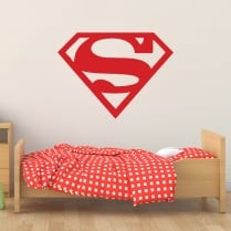 Superman Badge Wall Sticker