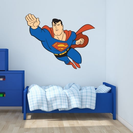 Wall Chimp Superman Printed Wall Sticker