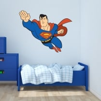 Superman Printed Wall Sticker