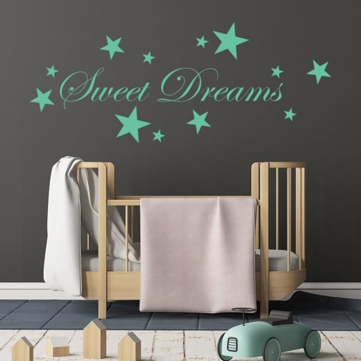 Wall Chimp Sweet Dreams Wall Sticker