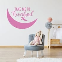 Take Me To Neverland Wall Sticker