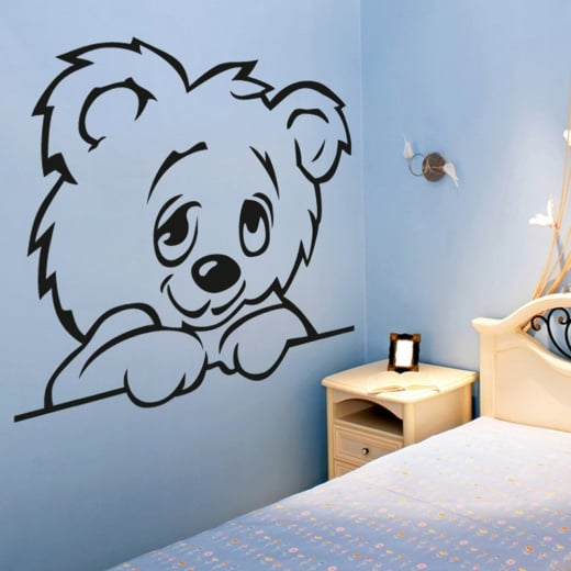 Wall Chimp Teddy Bear Wall Sticker