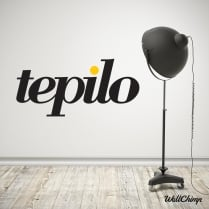 TEPILO Full Colour Wall Sticker Quotation WC477QT