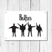 The Beatles Metal Sign