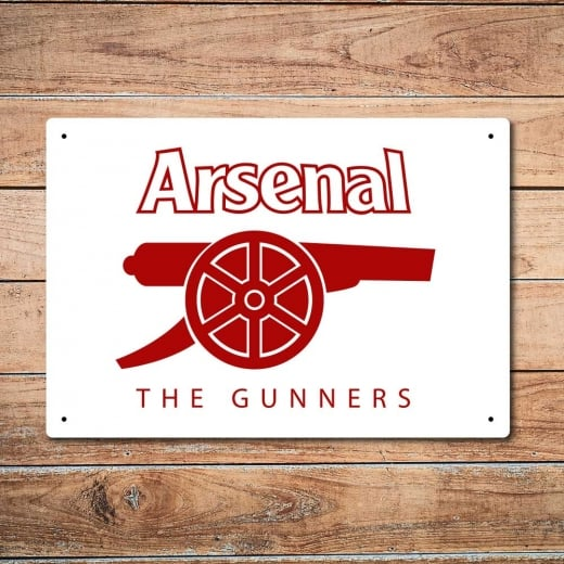 Wall Chimp The Gunners Arsenal Metal Sign